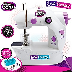 Character Options - Shimmer and Sparkle sew crazy sewing machine