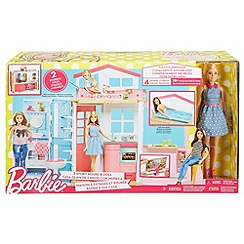 Barbie - 2 Story House & Doll