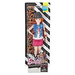 Barbie - Red Haired Doll in Look with Kitty Decal and Denim Vest