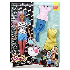 Barbie - Fashionistas Doll &Fashions 42 Blue Violet
