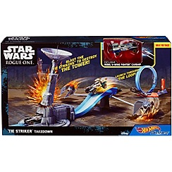 Hot Wheels - Rogue One Tie Striker Takedown playset