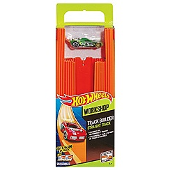 Hot Wheels - Track Builder Straight Track with Car