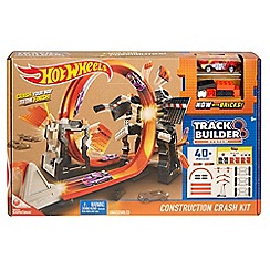 Hot Wheels - Track Builder Construction Crash Kit