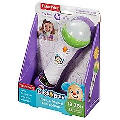 Fisher-Price - Rock & Record Microphone