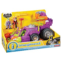 Mattel - DC Super Friends The Joker & Harley Quinn Vehicle