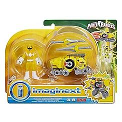 Power Rangers - Battle Armour Yellow Ranger