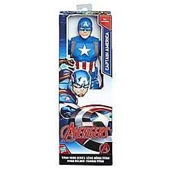 Hasbro Gaming - Titan Hero Series 12-inch Captain America Figure