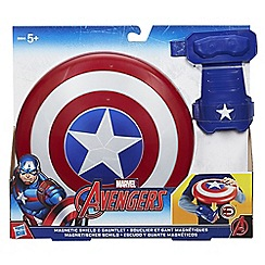 The Avengers - Captain America Magnetic Shield & Gauntlet