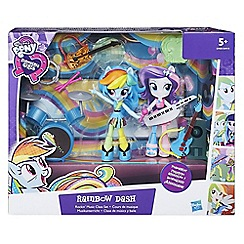 My Little Pony - Equestria Girls Minis Rainbow Dash Rockin' Music Class Set
