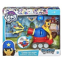 Hasbro Gaming - Guardians of Harmony Cheese Sandwich Pony with Party Tank