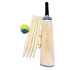 Mookie - Wooden cricket set size 3