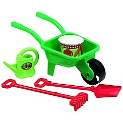 Mookie - Ecoffier wheelbarrow w/bucket, spade & accs