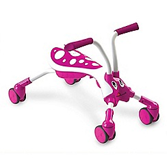 Mookie - Scramble bug candy pink/white