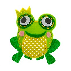 Creativity International - Finn the Frog Sewing Kit