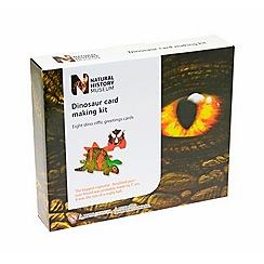 Natural History Museum - Dinosaur Card Kit