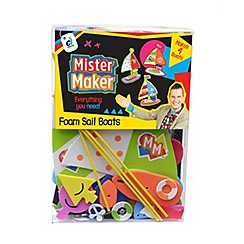 Mister Maker - Foam Boats