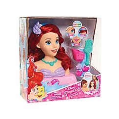Disney Princess - Ariel Bath Styling Head