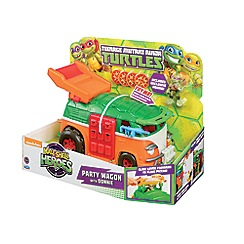 Teenage Mutant Ninja Turtles - Half-Shell Heroes Party Wagon with Donnie