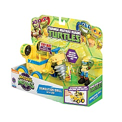 Teenage Mutant Ninja Turtles - Half-Shell Heroes Vehicle Figure Drill with Leo