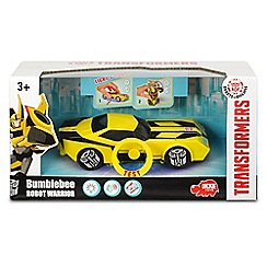 Transformers - RID Lights & Sounds Robot Fighter Bumblebee