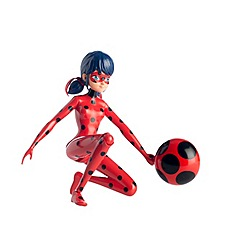 Miraculous - 19cm Jump and Fly Ladybug