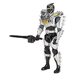 Power Rangers - Dino Super Charge 12.5cm Black Ranger ver.2  Action Figure