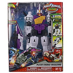 Power Rangers - Dino Super Charge Deluxe Plesio Megazord