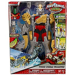 Power Rangers - Dino Super Charge Deluxe Titano Megazord