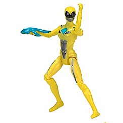 Power Rangers - 12.5cm Yellow  Ranger Action Figure