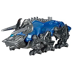 Power Rangers - Triceratops Battle Zord with Blue Ranger