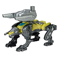 Power Rangers - Sabertooth Battle Zord with Yellow Rgr