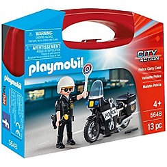 Playmobil - Police Small Carry Case - 5648