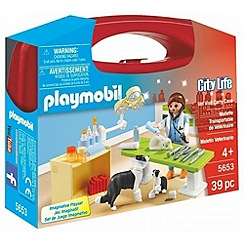 Playmobil - Vet Clinic Small Carry Case - 5653