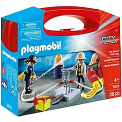 Playmobil - Fire Large Carry Case - 5651