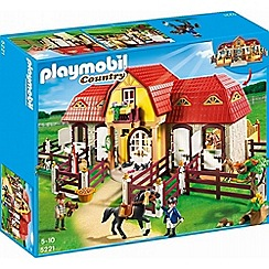 Playmobil - Country Large Pony Farm - 5221