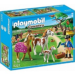 Playmobil - Country Paddock with Horses and Pony - 5227
