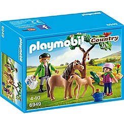 Playmobil - Country Vet with Pony and Foal - 6949