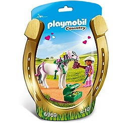 Playmobil - Country Groomer with Heart Pony - 6969