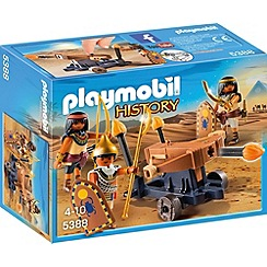 Playmobil - History Egyptian Troop with Ballista - 5388