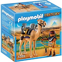 Playmobil - History Egyptian Warrior with Camel - 5389