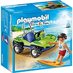 Playmobil - Family Fun Surfer with Beach Quad - 6982