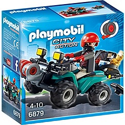 Playmobil - City Action Robber's Quad with Loot - 6879