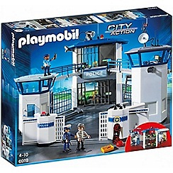 Playmobil - City Action Police Headquarters with Prison - 6919