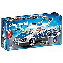 Playmobil - City Action Squad Car with Lights and Sound - 6920
