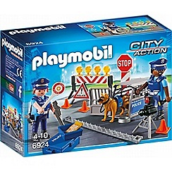 Playmobil - City Action Police Roadblock - 6924