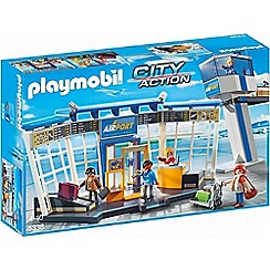 Playmobil - City Life Airport with Control Tower - 5338