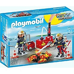 Playmobil - City Action Firefighting Operation with Water Pump - 5397