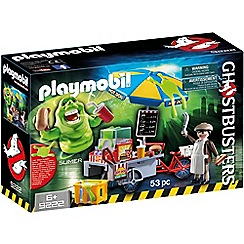 Playmobil - Ghostbusters Hot Dog Stand with Slimer - 9222