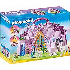 Playmobil - Fairies Take Along Fairy Unicorn Garden - 6179
