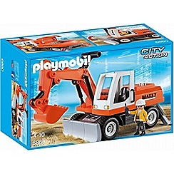 Playmobil - City Action Rubble Excavator - 6860